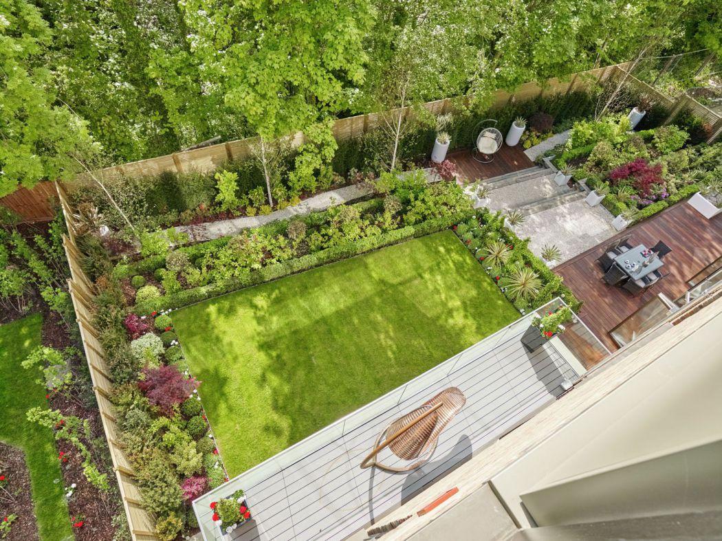 Garden Design Birds Eye View